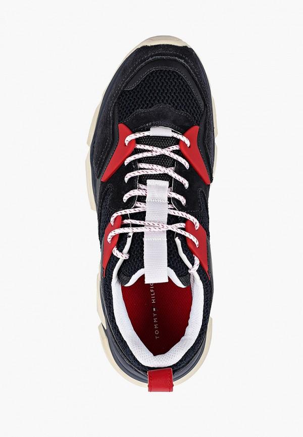 Фото 4 - Мужские кроссовки Tommy Hilfiger синего цвета