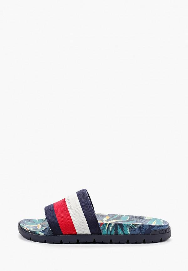 Фото - мужские сандали Tommy Hilfiger разноцветного цвета