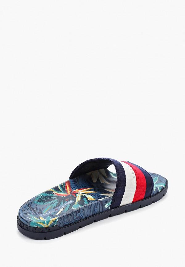 Фото 3 - мужские сандали Tommy Hilfiger разноцветного цвета