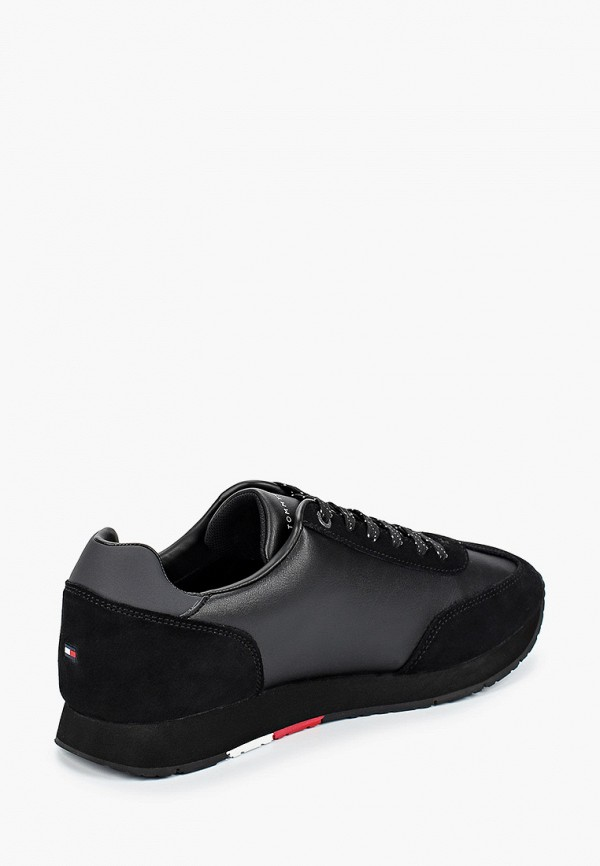 Фото 3 - мужские кроссовки Tommy Hilfiger черного цвета