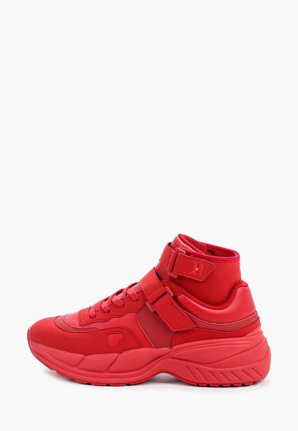 мужские кроссовки tommy hilfiger, красные