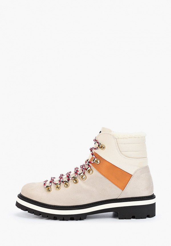 мужские ботинки tommy hilfiger, серые