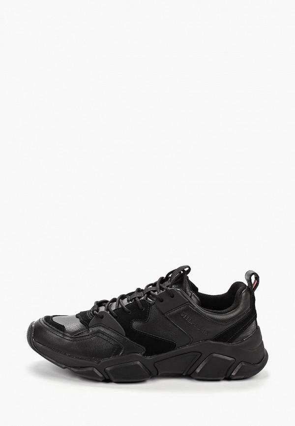 мужские кроссовки tommy hilfiger, черные
