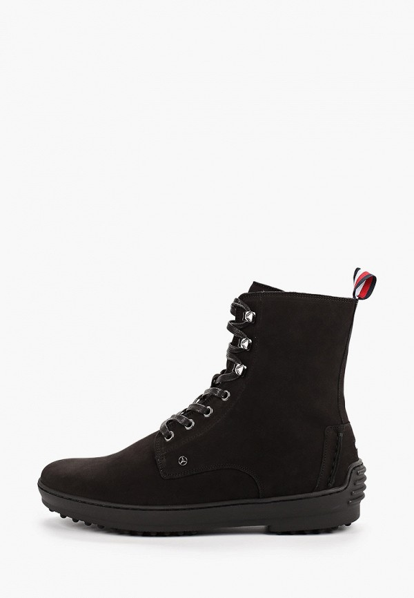 мужские ботинки tommy hilfiger, черные
