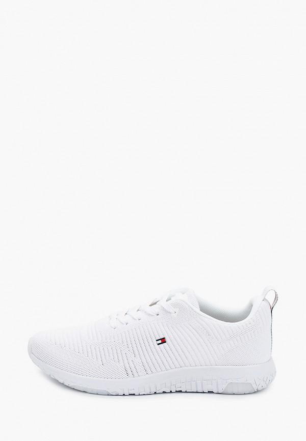 мужские низкие кроссовки tommy hilfiger, белые