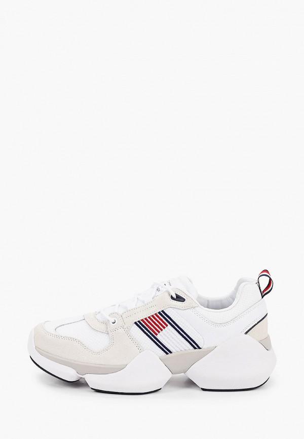 мужские кроссовки tommy hilfiger, белые