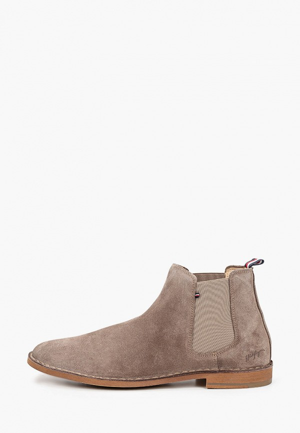 мужские ботинки tommy hilfiger, коричневые