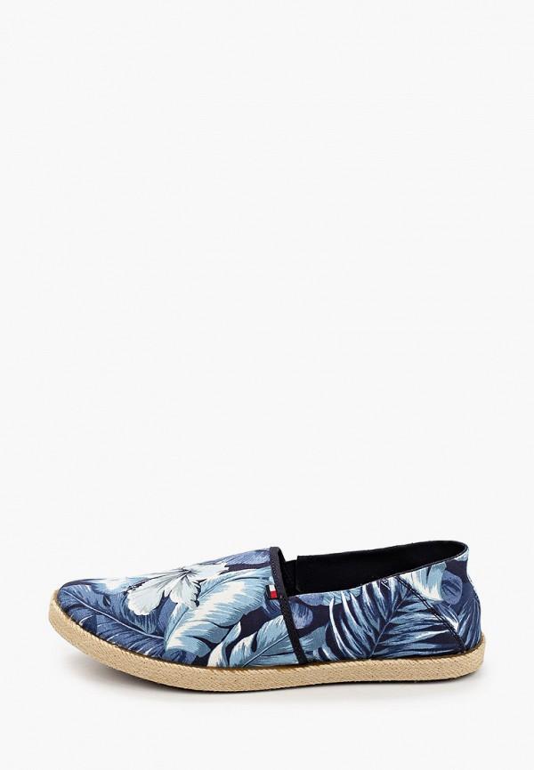 мужские эспадрильи tommy hilfiger, синие