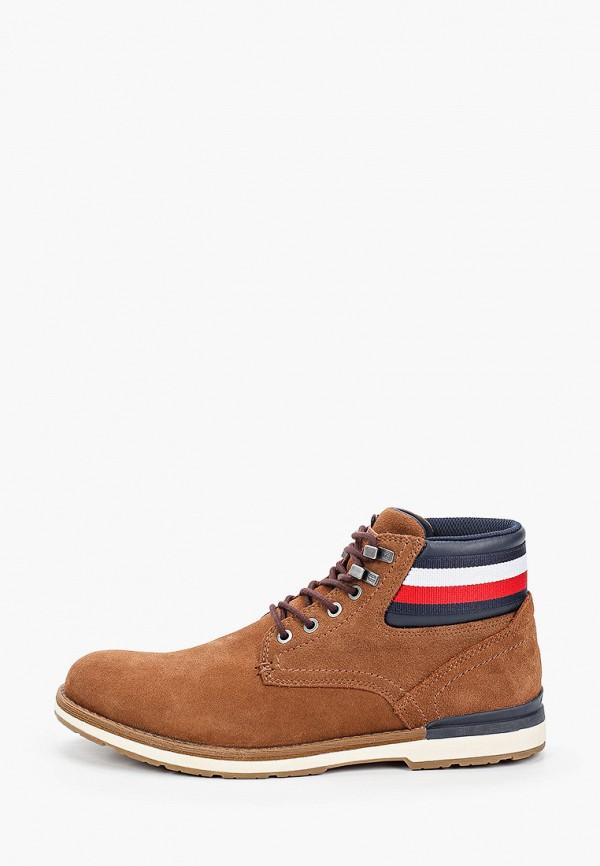 мужские высокие ботинки tommy hilfiger