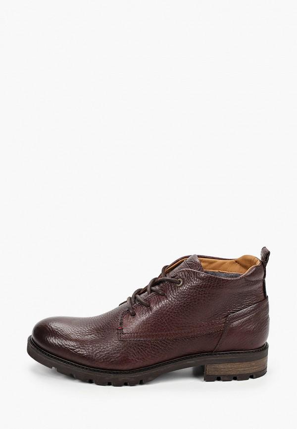 мужские высокие ботинки tommy hilfiger, коричневые