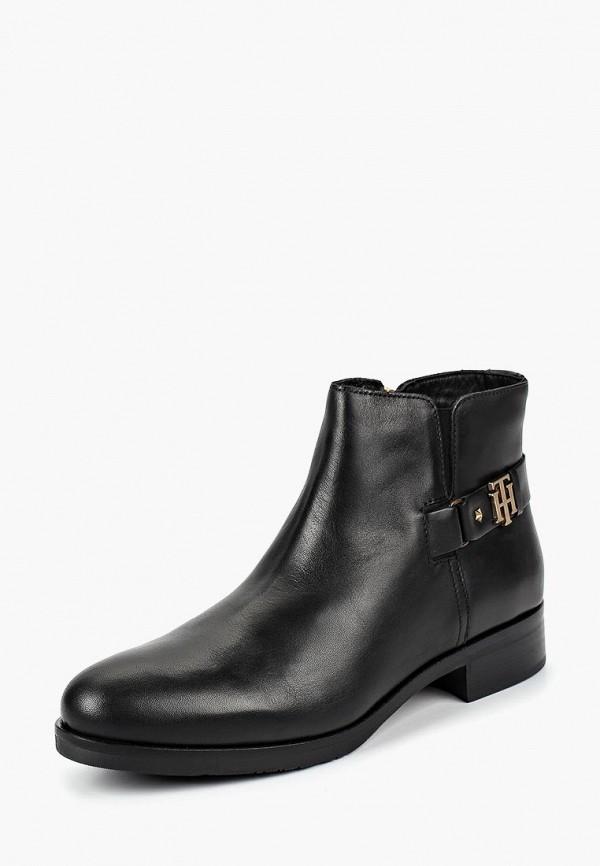 Купить Ботинки Tommy Hilfiger, to263awbhqp4, черный, Осень-зима 2018/2019
