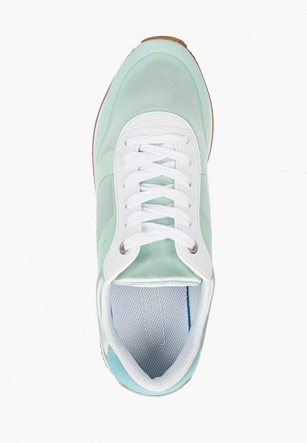 Фото 4 - женские кроссовки Tommy Hilfiger голубого цвета