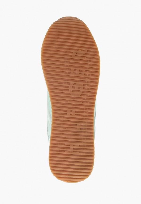 Фото 5 - женские кроссовки Tommy Hilfiger голубого цвета