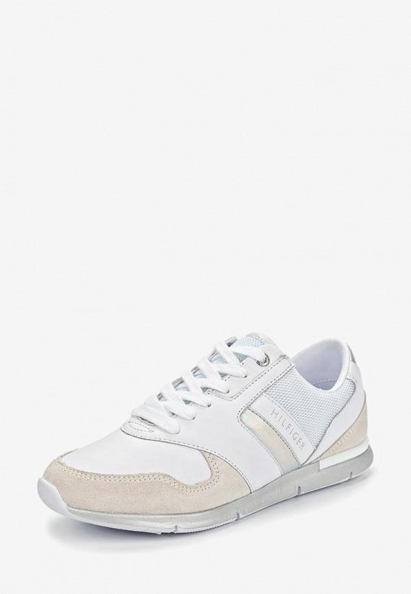 Фото 2 - женские кроссовки Tommy Hilfiger белого цвета