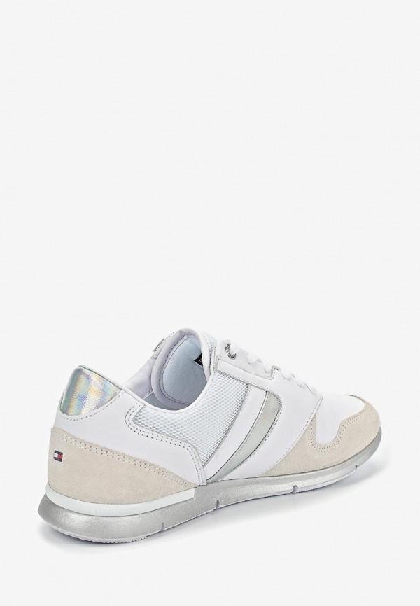 Фото 3 - женские кроссовки Tommy Hilfiger белого цвета