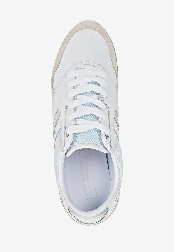 Фото 4 - женские кроссовки Tommy Hilfiger белого цвета