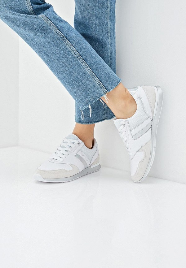Фото 6 - женские кроссовки Tommy Hilfiger белого цвета