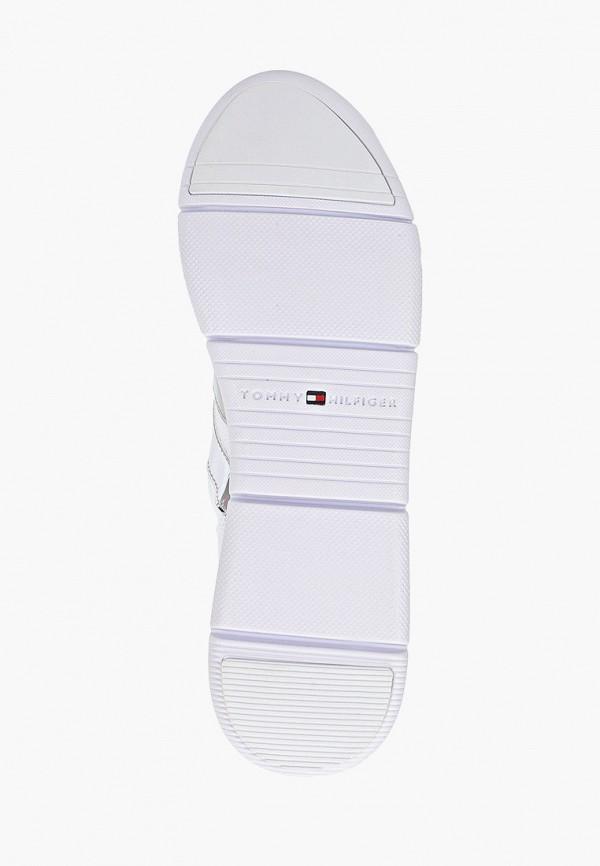 Фото 5 - женские кроссовки Tommy Hilfiger белого цвета