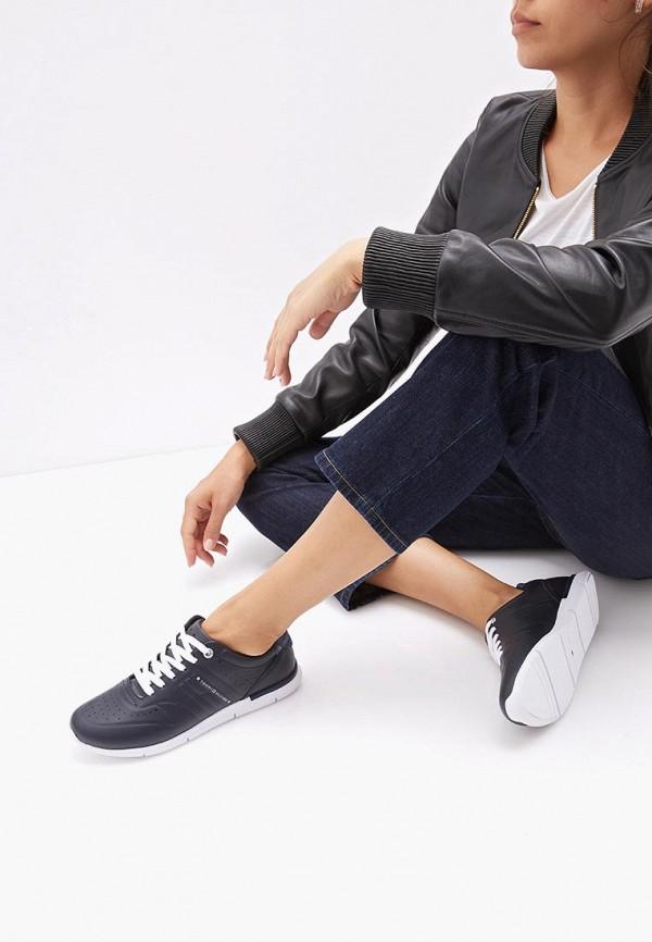 Фото 6 - Женские кроссовки Tommy Hilfiger черного цвета