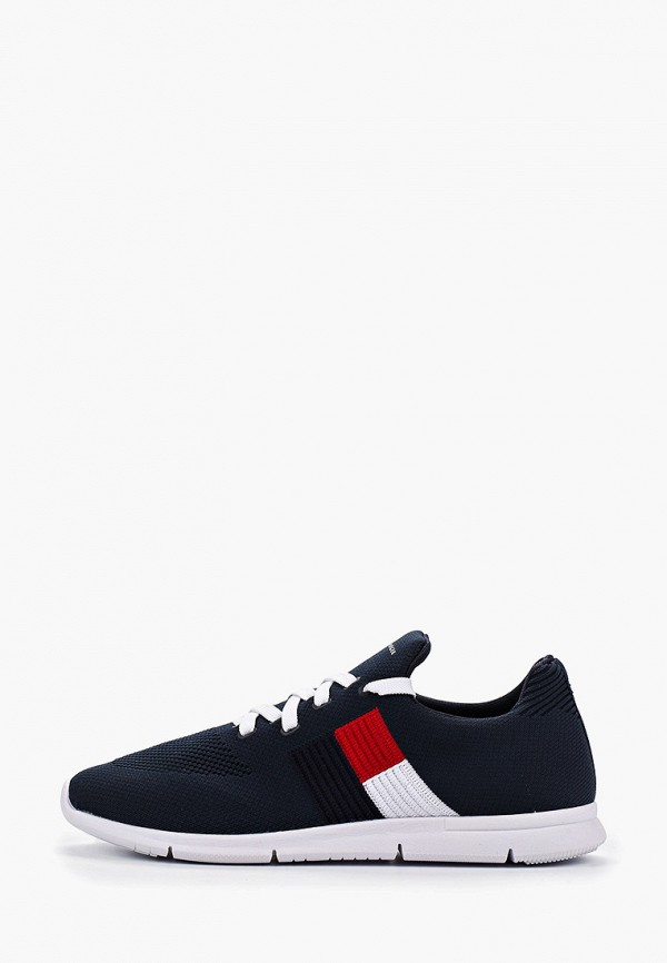 женские кроссовки tommy hilfiger, синие