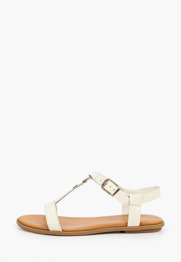 женские сандалии tommy hilfiger, бежевые