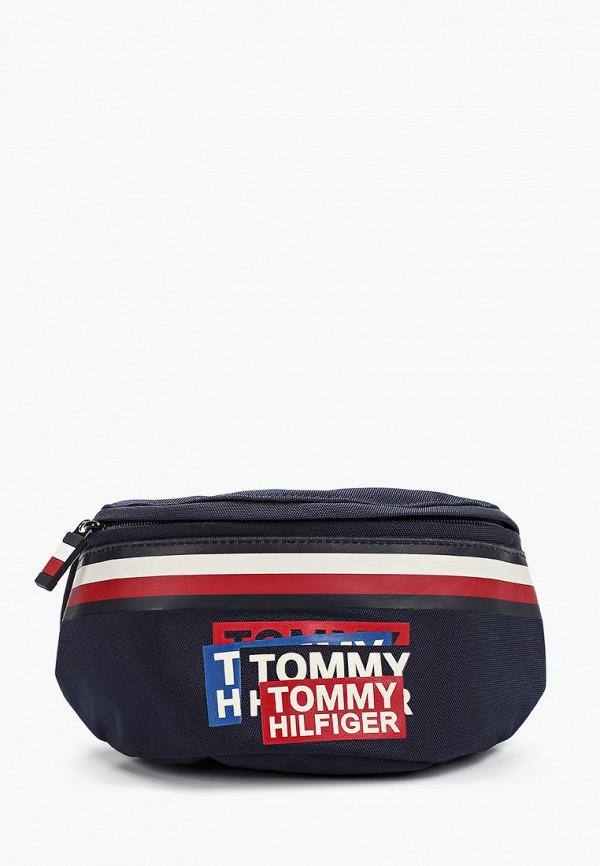 сумка tommy hilfiger для мальчика, синяя