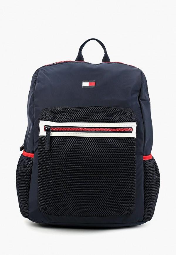 рюкзак tommy hilfiger для девочки, синий