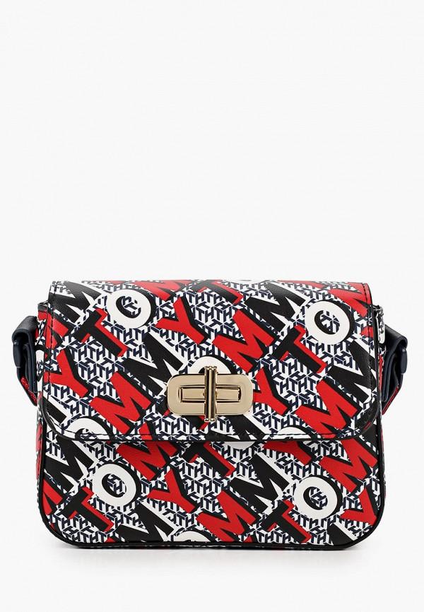 сумка tommy hilfiger для девочки, разноцветная