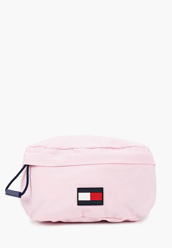 сумка tommy hilfiger для девочки, розовая