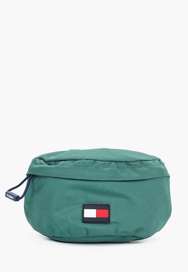 сумка tommy hilfiger малыши, зеленая
