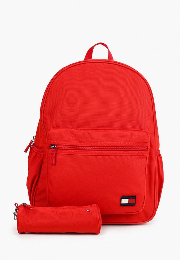 рюкзак tommy hilfiger малыши, красный