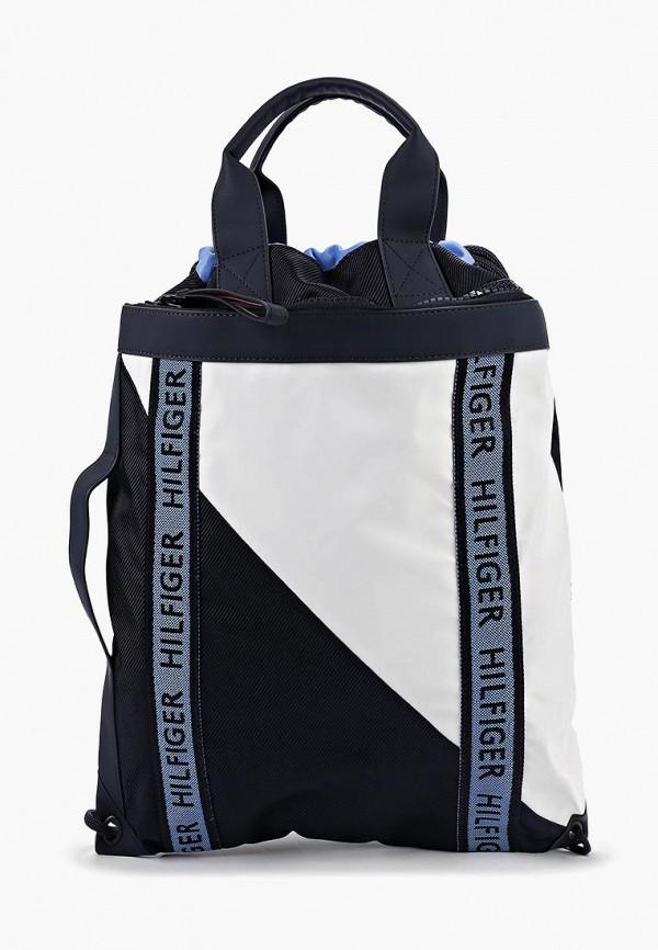 Купить Рюкзак Tommy Hilfiger, to263bmfirx2, синий, Осень-зима 2019/2020