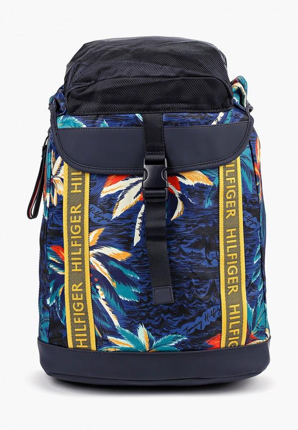 мужской рюкзак tommy hilfiger, разноцветный