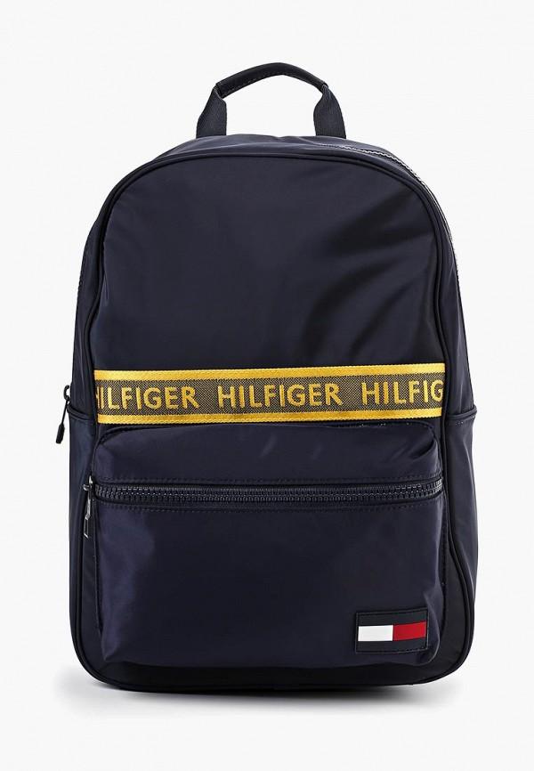Купить Рюкзак Tommy Hilfiger, to263bmfiry0, синий, Осень-зима 2019/2020