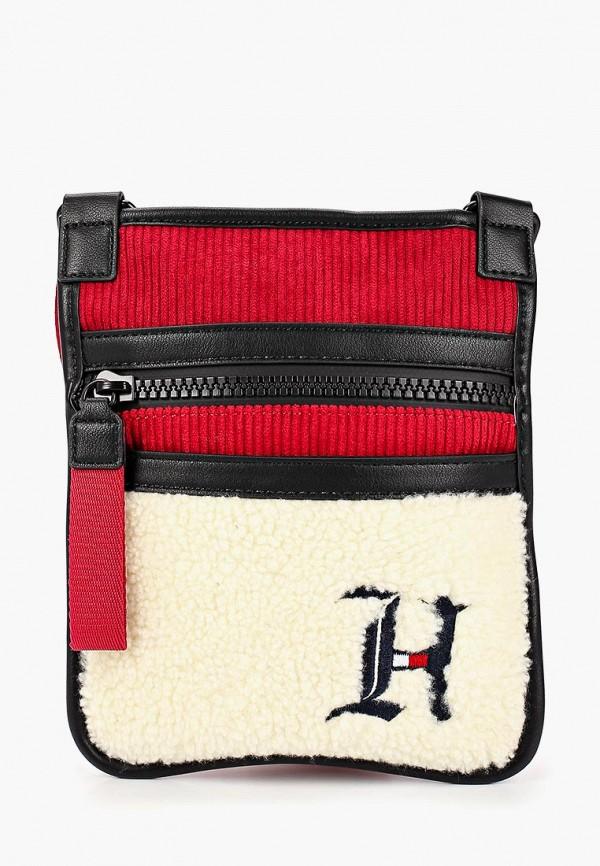 мужская сумка tommy hilfiger, разноцветная