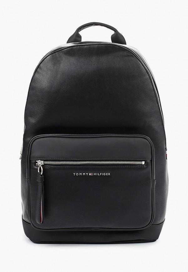 мужской рюкзак tommy hilfiger, черный
