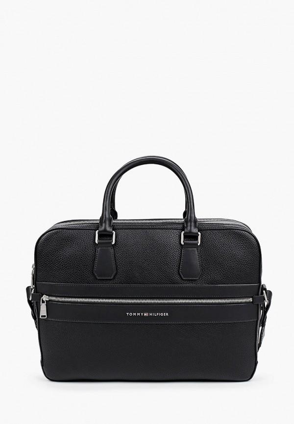 мужская сумка tommy hilfiger, черная