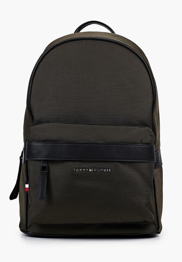 мужской рюкзак tommy hilfiger, хаки