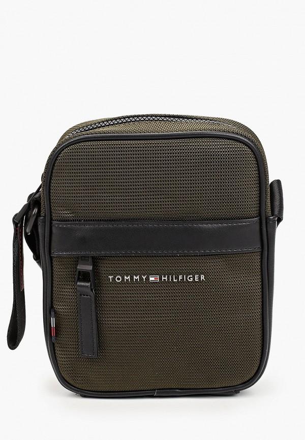 мужская сумка tommy hilfiger, хаки