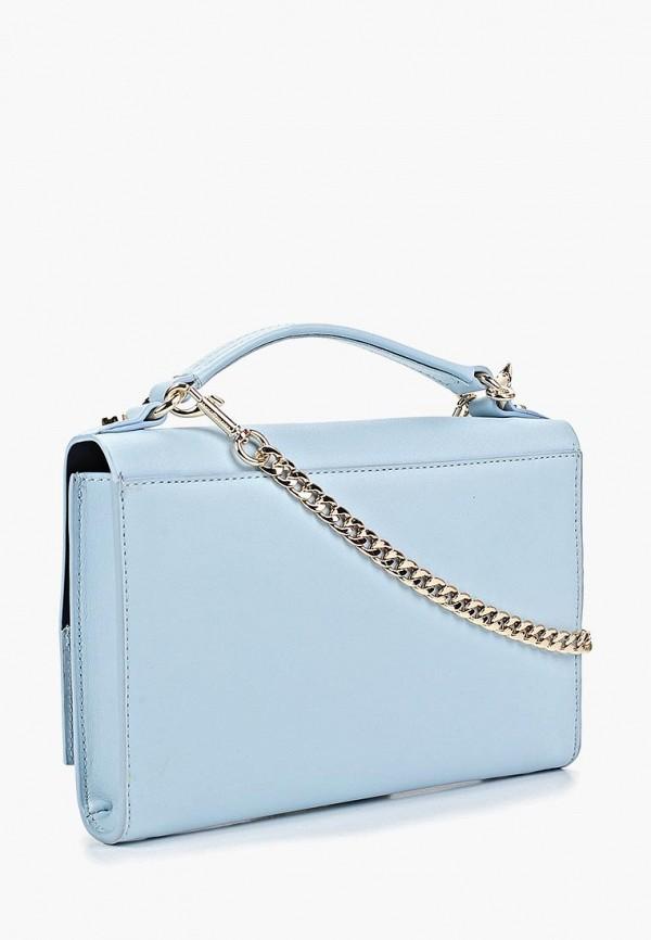 Фото 2 - женскую сумку Tommy Hilfiger голубого цвета