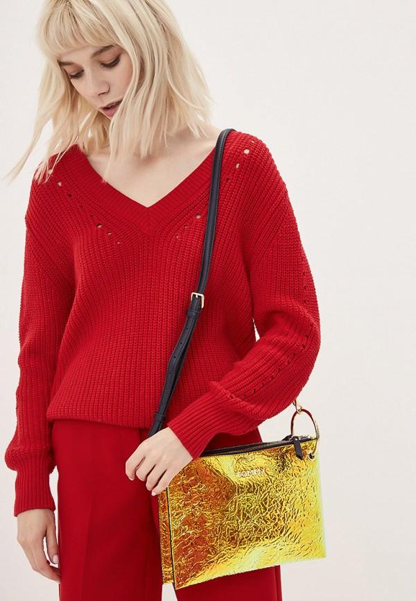 Фото 5 - женскую сумку Tommy Hilfiger разноцветного цвета