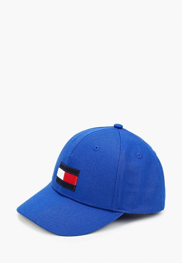 бейсболка tommy hilfiger для мальчика, синяя