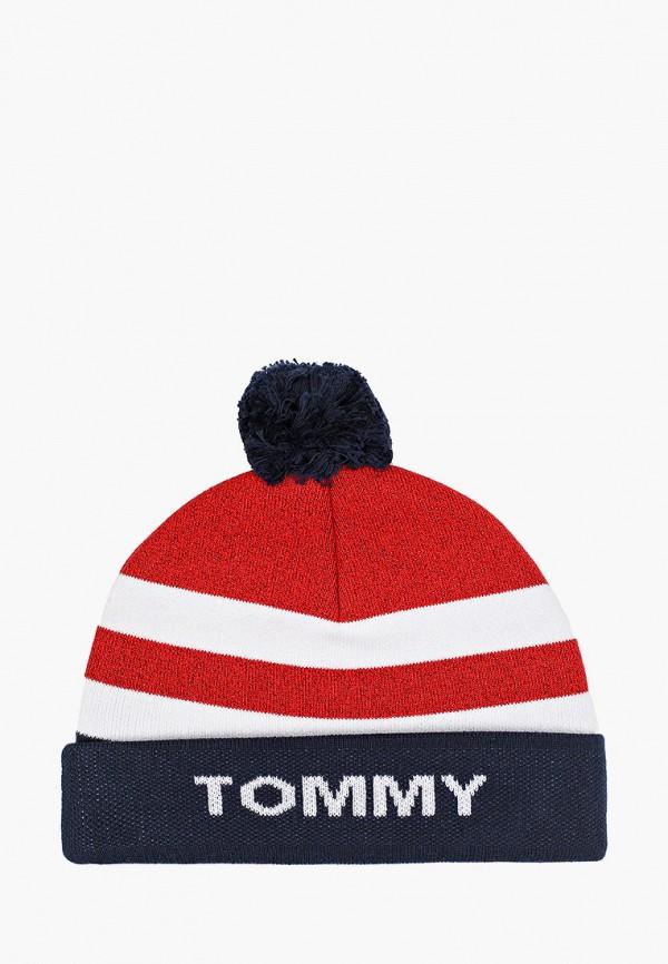 шапка tommy hilfiger для мальчика, разноцветная