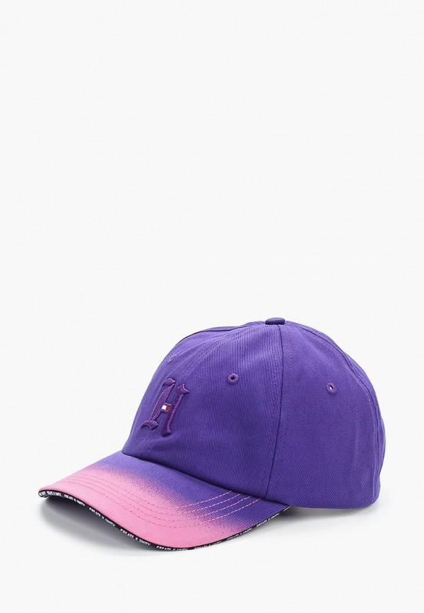 мужская бейсболка tommy hilfiger, розовая