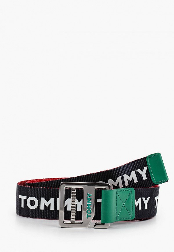 Ремень Tommy Hilfiger Tommy Hilfiger AU0AU00990 синий фото