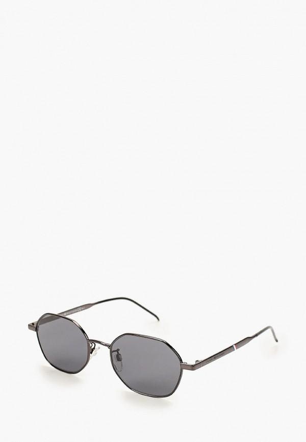 мужские солнцезащитные очки tommy hilfiger, черные