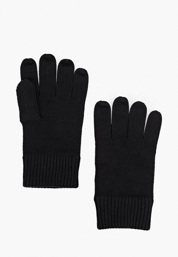 мужские текстильные перчатки tommy hilfiger, черные