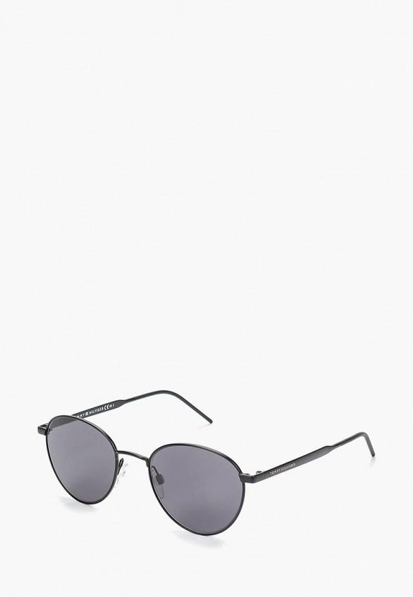 женские солнцезащитные очки tommy hilfiger, серые