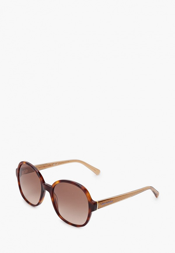 Очки солнцезащитные Tommy Hilfiger коричневого цвета