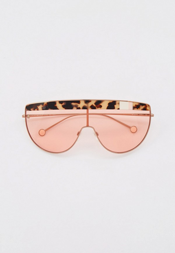 женские солнцезащитные очки tommy hilfiger, золотые